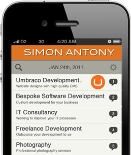 Simon Antony Mobile Application Development